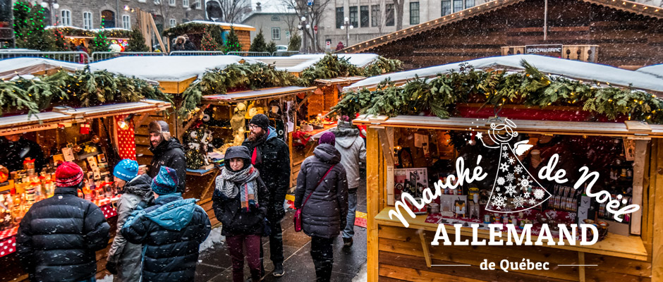 Québec City's German Christmas Market